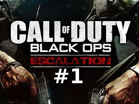 Call of Duty Black Ops Escalation Map Pack Multiplayer Gameplay Part 1: Stockpile
