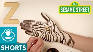Sesame Street: Hand Painted - Z is for Zebra - 1080p HD