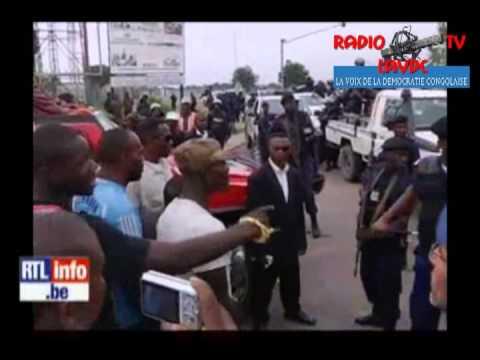 Fin de campagne sous haute tension a Kinshasa- il y a eu mort d'hommes