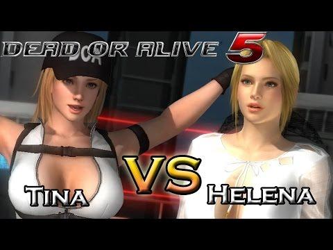 Dead Or Alive 5 Last Round - Tina Vs Helena