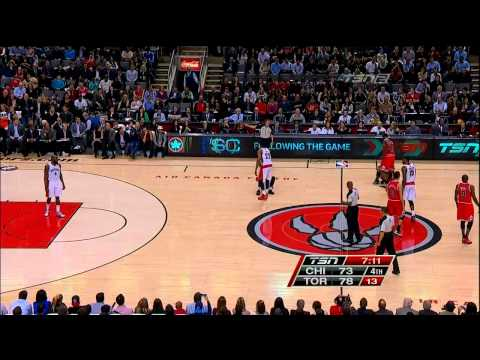 Nate Robinson Funny and Creative JUMP BALL
