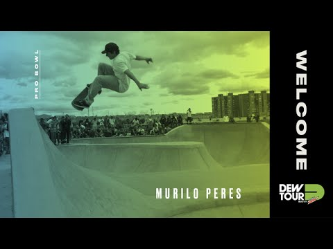 Dew Tour 2017 Pro Bowl Welcome Murilo Peres