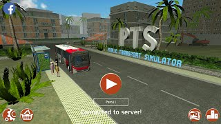 Vozimo kombije!!///Bus Transport Simulator