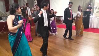 කොහොමද නැටිල්ල  surprise wedding dance (sri lankan wedding dance)
