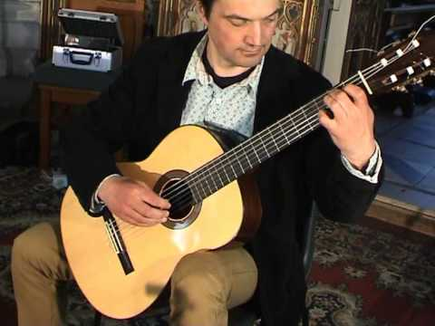 Andres Segovia - Segovia Study No 6
