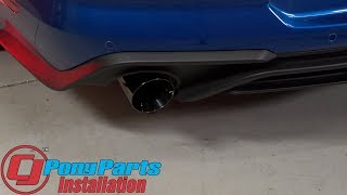 2018 Mustang EcoBoost Sounds SO Good after a Ford Performance By Borla Sport CatBack Exhaust Install