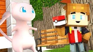 CATCHING MEW IN POKEMON GO! (Minecraft Roleplay)