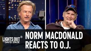 Norm Macdonald Reacts to O.J. Simpson's Twitter - Lights Out with David Spade