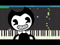 Bendy And The Ink Machine Song Shade Me Piano Tutorial Rockit Gaming mp3