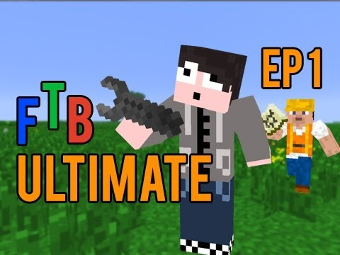 Minecraft: FTB Ultimate Pack - Episode 1 - SO MUCH LEWT