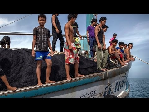 Piracy, Slavery & Murder on Fishing Boats Exposed with Ian Urbina of the New York Times