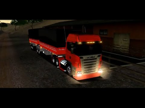 18 Wheels of Steel American Long Haul Scania Highline + Bitrem