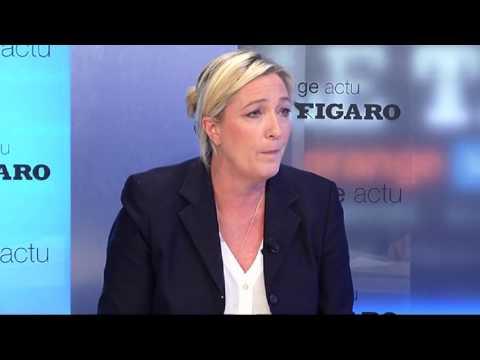 Marine Le Pen : «NKM est le symbole de l'UMPS»