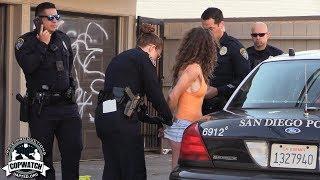 Copwatch   Cops Find Woman Allegedly with a Gun   No Gun Found   Warrant Arrest