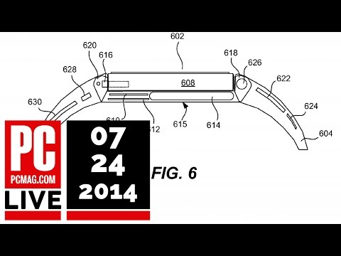 PCMag Live 07/24/14: Apple's iWatch Patent & OS X Yosemite Released to Public