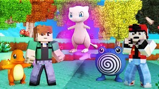 Pokemon Manga - TRAINER RED & THE MYSTERY OF MEW! (Minecraft Pixelmon Manga Roleplay) #1