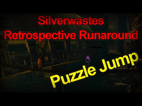 Guild Wars 2 - Silverwaste Jumping Puzzle Guide [Commentary]