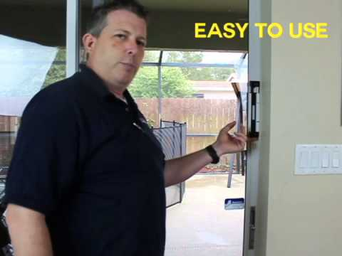Sliding Glass Door Auxilary Lock System - YouTube