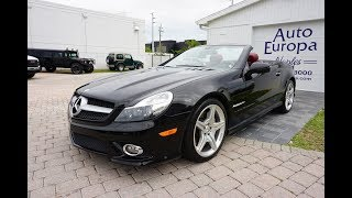 2009 Mercedes Benz SL 550 AMG Sport R230 - Review and Test Drive by Bill Auto Europa Naples