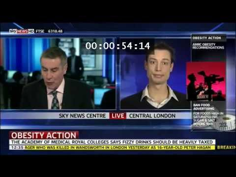 Sam Feltham On Sky News About The Sugar Tax