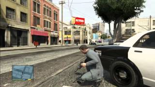 GTA 5 Five Star Police Station Chase