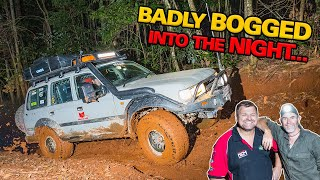 SCARIEST HILL CLIMB EVER - Slippery as hell secret QLD tracks! 4WD nearly rolls + handy 4x4 tips