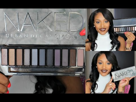 NEW Urban Decay NAKED SMOKY PALETTE- [SWATCHES + GIVEAWAY]