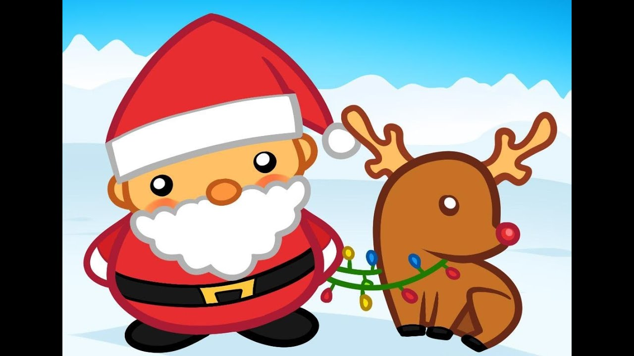 Santa Claus Easy Drawing - Merry Xmas Greetings - YouTube