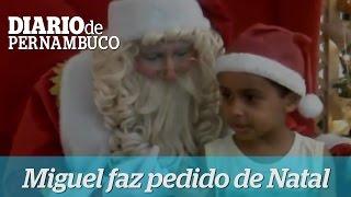 O pedido para Papai Noel