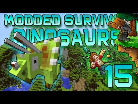 Minecraft: Modded Dinosaur Survival Let's Play w/Mitch! Ep. 15 – Until Next Time!