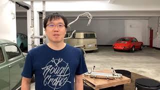 Merge Comp Vintage Speed aircooled Exhaust System VW Beetle Bus