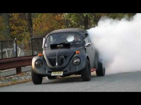 v8 vw beetle burnout (angry herby)