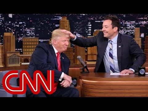 Donald Trump Tells Jimmy Fallon to 'Be a Man'