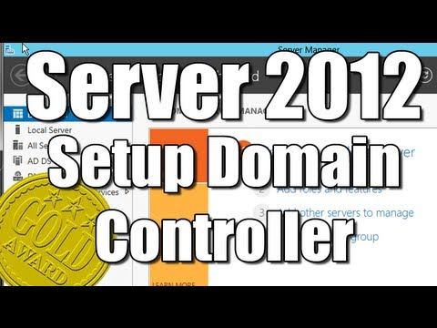 Server 2012 Setup AD DS Active Directory Domain Services Role