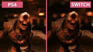 DOOM – PS4 vs. Switch Frame Rate & Graphics Comparison
