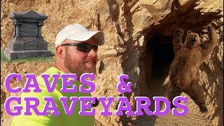 Caves & Gravesites At Ghost Town
