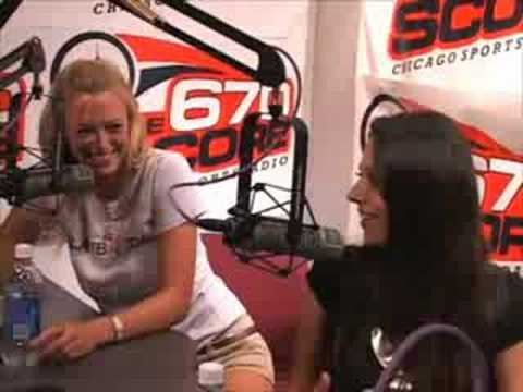 Laurie Fetter and Pilar Lastra with 670 The Score Part 3 Video