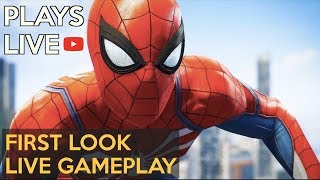 *New* Spider-Man 2018 Live Gameplay