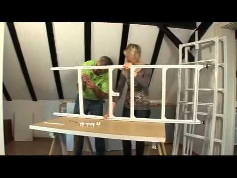 begehbarer kleiderschrank bauen youtube. Black Bedroom Furniture Sets. Home Design Ideas