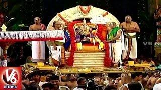 7th Day Of Tiruchanoor Padmavathi Ammavari Brahmotsavam | Suryaprabha Vahana Seva