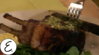 How to Make Lamb Chops with Rosemary and Garlic  - Emeril Lagasse