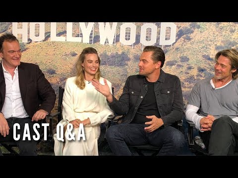 download song ONCE UPON A TIME IN HOLLYWOOD - Cast Q&A free