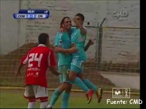 Video Goles: Union Comercio 0-3 Sporting Cristal ::Copa Movistar 2013 Fecha 13:: [01/05/13]