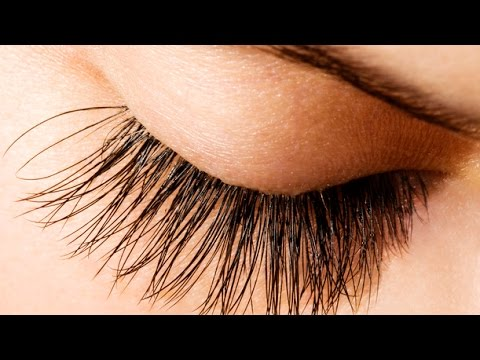 How to Grow Longer & Thicker Lashes. DIY Natural Eyelash Growth Serum