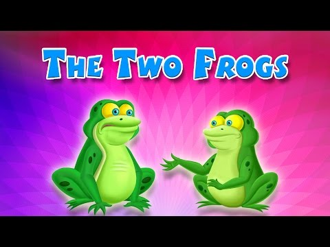 The Two Frogs | English Short Stories For Children | Kidsone video