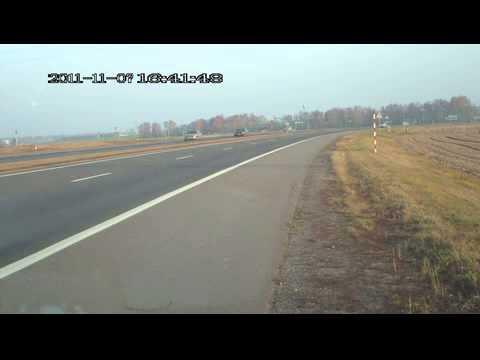 ДТП по дороге в Гродно, Беларусь