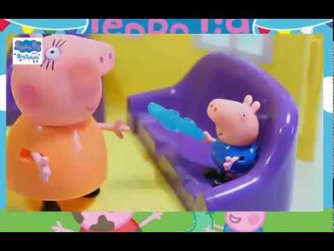 Пеппа получила 2 мама свинка в шоке