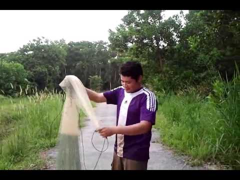 Trik Melempar Jala Jaring Ikan Eps1