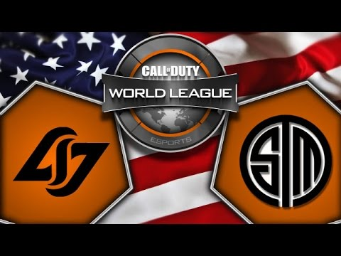 CLG vs TSM - Game 1 - CoD World League - Day 10 - Europe - Cast FR