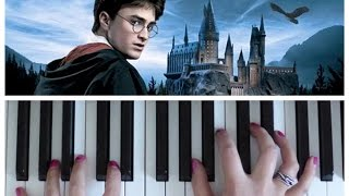 Download Song Hedwig's Theme from Harry Potter | EASY Piano Tutorial Free StafaMp3